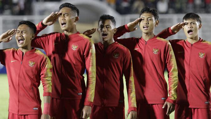 Pemain Timnas Indonesia U-19. (Bola.com/M Iqbal Ichsan)