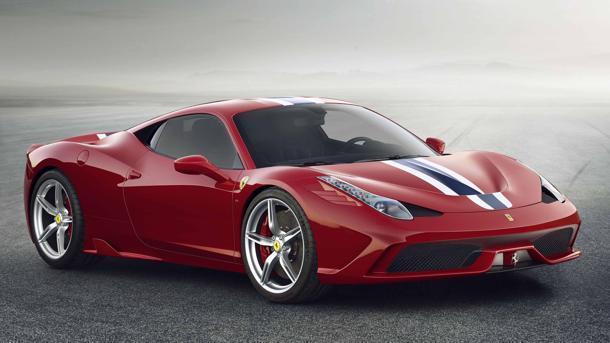 Ferrari 458 Speciale arrives with more power and more stripes