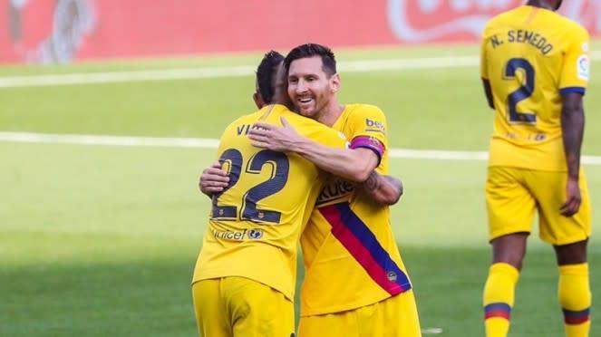 Barcelona menang atas Real Valladolid