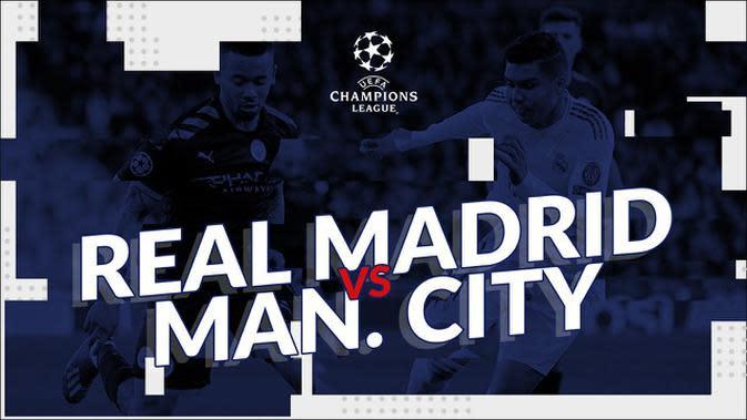 VIDEO: Bermain di Santiago Bernabeu, Real Madrid Kalah dari Manchester City