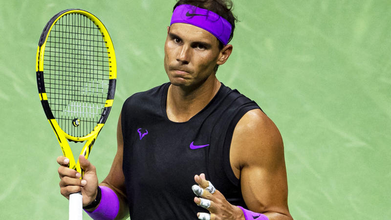 Rafael Nadal, pictured here during his clash with Diego Schwartzman.