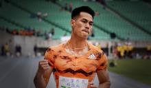 「台灣最速男」全田賽飆2年最佳 楊俊瀚百米只花10秒13