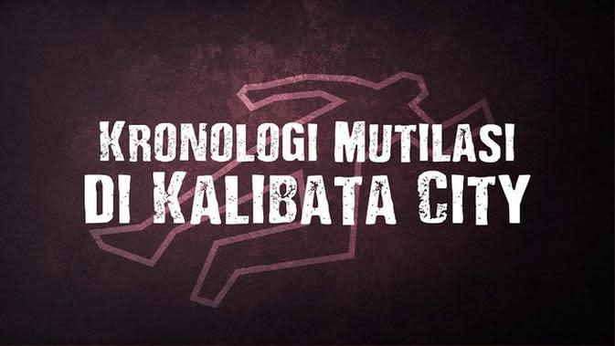 VIDEOGRAFIS: Kronologi Mutilasi yang Terungkap di Kalibata City