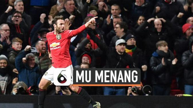 VIDEO: Manchester United Tumbangkan Wolverhampton 1-0