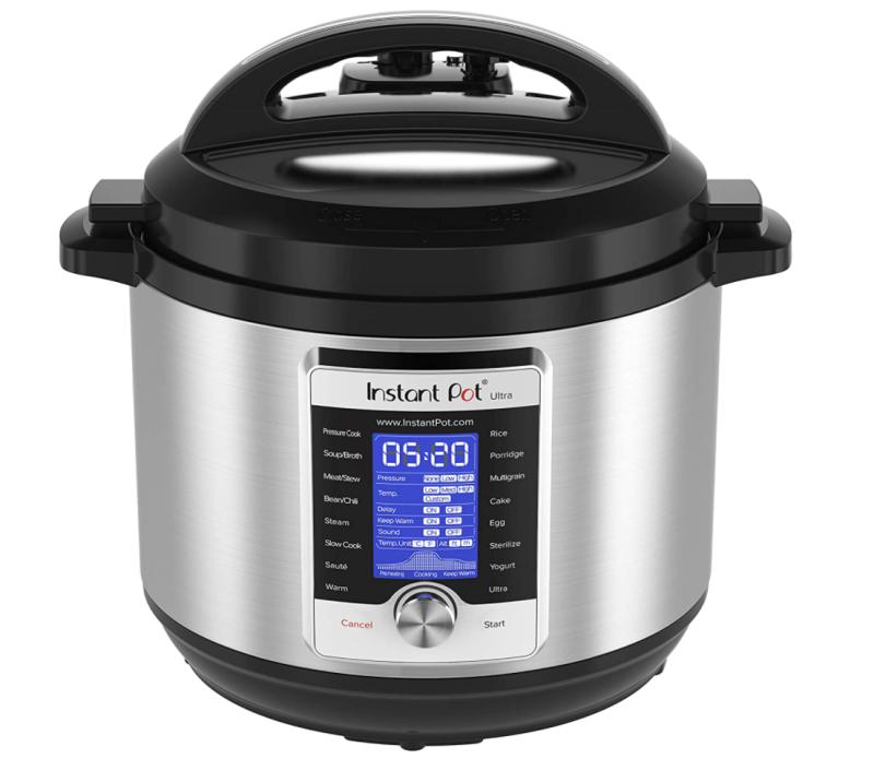 Instant Pot Ultra Electric Pressure Cooker. Image via Amazon.