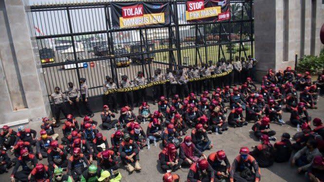 Ketua DPR Ajak Buruh Tak Demo, Bisa Jadi Klaster Penyebaran COVID-19