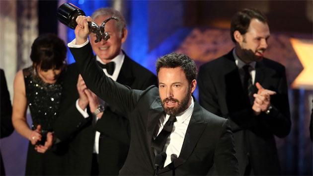 Ben Affleck Aces his Acceptance Speeches