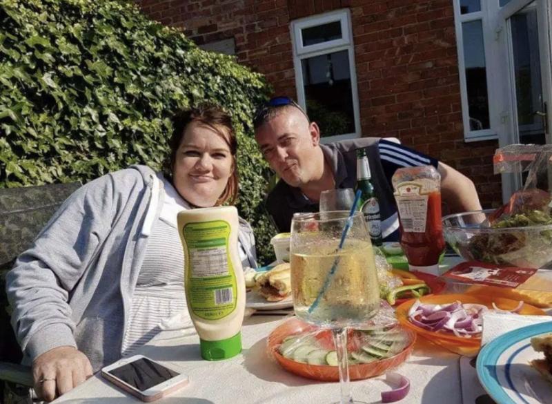 Gemma a passé sept ans avec son mari Alan avant de se marier le mois dernier. Photo: KENNEDY NEWS ET MEDIA
