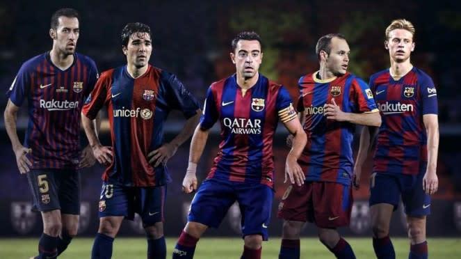 Maestro lini tengah FC Barcelona