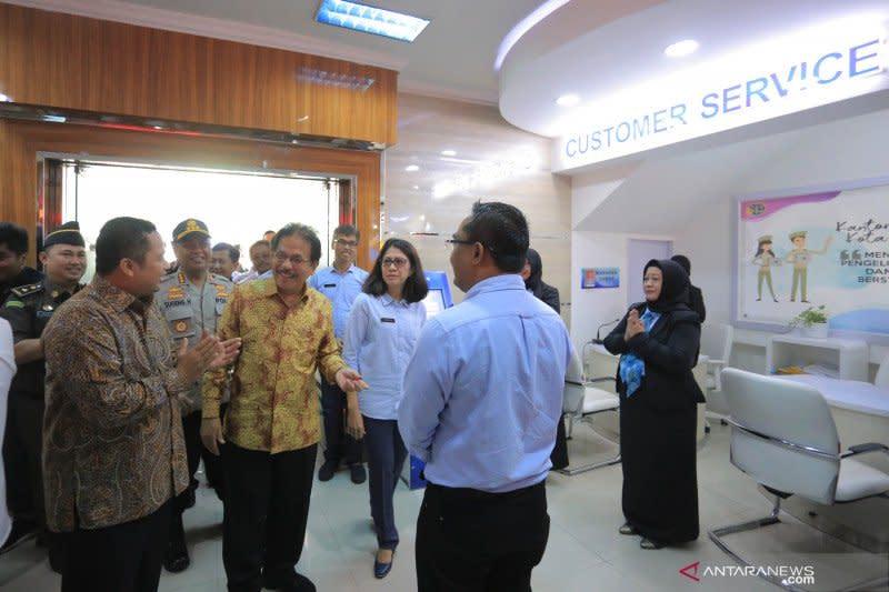 Miliki loket online, kantor pertahanan Kota Tangerang jadi contoh