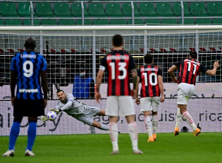 'Still hungry': Ibrahimovic double pulls AC Milan top, 10-man Juve held at Crotone
