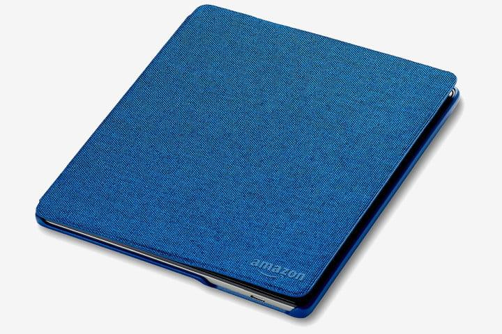 Amazon fabric Kindle Oasis cover in blue