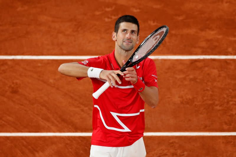 Djokovic resists gallant Tsitsipas to set up Nadal final