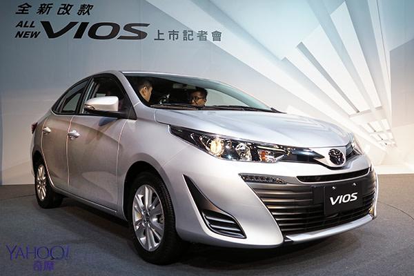 安全補完計畫!Toyota All New Vios 7氣囊上陣!
