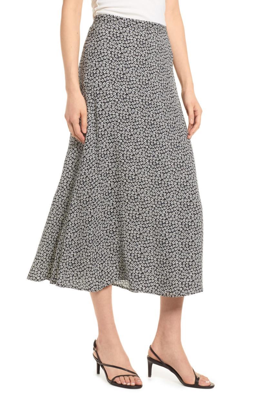 Reformation Bea Midi Skirt. Image via Nordstrom.