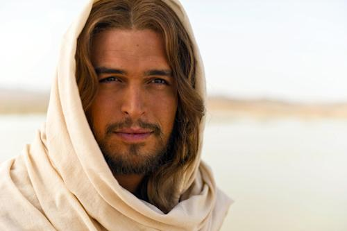 "This image released by LightWorkers Media shows Diogo Morgado who plays Jesus in the film ""The Bible."" Mark Burnett and Roma Downey's ""The Bible"" franchise continues to grow in unexpected ways. Up next? A 16-city music tour featuring some of today's most popular Christian acts. The tour begins next March following the nationwide theatrical release of ""The Bible"" companion film ""Son of God,"" and will feature music inspired by and visual components from the movie and miniseries. (AP Photo/LightWorkers Media, Joe Alblas)"