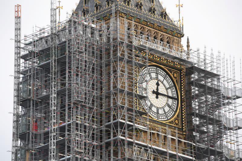 Big Ben London rusak lebih parah dibanding dibom Jerman