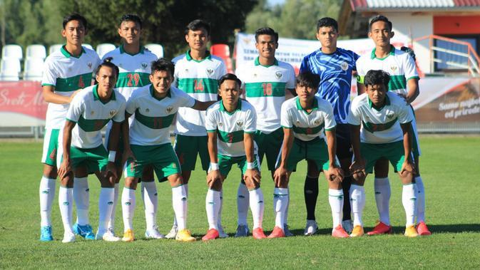 Sandi Arta Samosir bangga mendapatkan kesempatan bermain di Timnas Indonesia U-19, namun kecewa dengan hasil pertandingan melawan Kroasia. (dok. PSSI)