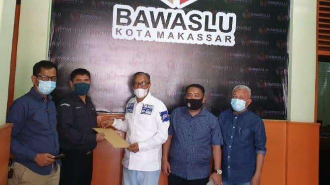Pilkada Makassar Mulai Panas, Pasangan Calon Saling Lapor