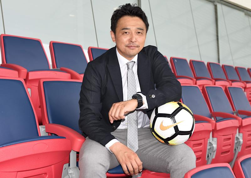 The Football Association of Singapore has appointed Tatsuma Yoshida as head coach of the Singapore national football team. (PHOTO: Football Association of Singapore)