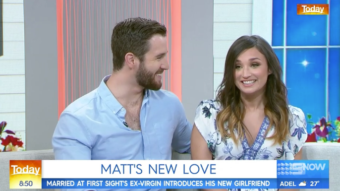 'Married At First Sight's Matthew Introduces His New Girlfriend