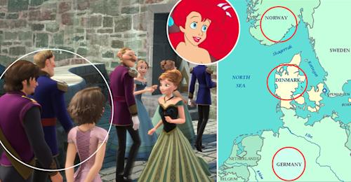 The Secret 'Frozen'-'Tangled'-'Mermaid' Connection and Other Disney Conspiracy Theories