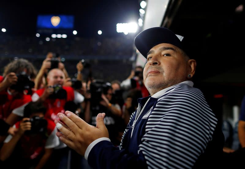 Maradona tests negative for coronavirus, says his lawyer