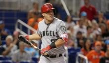MLB/楚奧特險遭近身球爆頭 天使總教練暗酸巨人投手