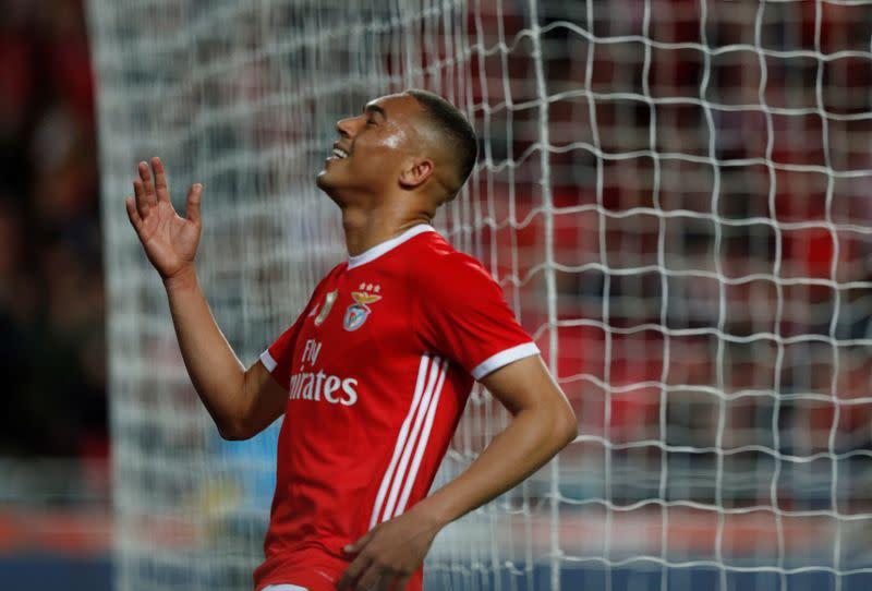 Spurs sign Benfica striker Vinicius on season-long loan