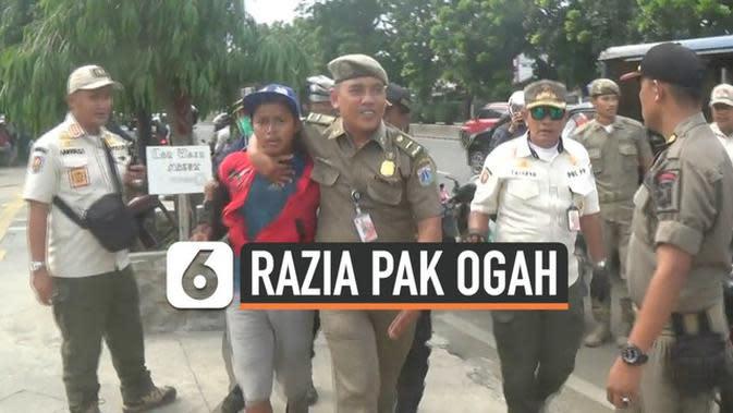 VIDEO: Razia Pak Ogah Diwarnai Aksi Kejar-Kejaran