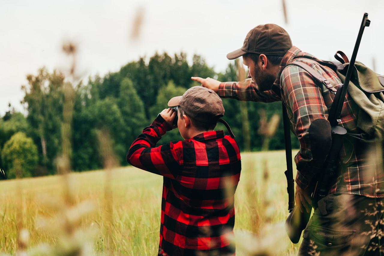 "<p>Now to decide what to get dear old dad.  The hunt for the perfect  gift for him can be quite a challenge and may be time-consuming, too.  Especially when he claims to want nothing and never knows <a href=""https://www.countryliving.com/shopping/gifts/g33522657/what-to-ask-for-this-christmas/"" target=""_blank"">what to ask for this Christmas</a>. It's always a safe bet to stick within the gift receiver's hobby. Dads can never have too much hunting gear, trust us. If your dad is a hunting enthusiast, chances are you've given him a gift card to Cabela's for years on end. Why not try something a little different this Christmas? He'll appreciate that you took the time to research his hobby. Pair a hunting-themed gift with just the right <a href=""https://www.countryliving.com/food-drinks/g4768/christmas-ham-recipes/"" target=""_blank"">Christmas ham recipe</a> and delicious <a href=""https://www.countryliving.com/food-drinks/g2768/christmas-cocktails/"" target=""_blank"">Christmas cocktails</a>, and he'll feel like a million bucks (no pun intended) all day long. We've rounded up 30 of the best gifts for your always-on-the-hunt loving dad. If you have the kind of dad who is eternally looking forward to the next opening day, we're sure that these gifts will get his blood pumping. So ready, aim, fire—every single one of these gifts will hit the mark with all the great outdoorsmen in your family. </p>"