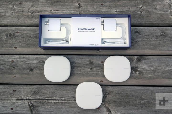 samsung smartthings w-fi box