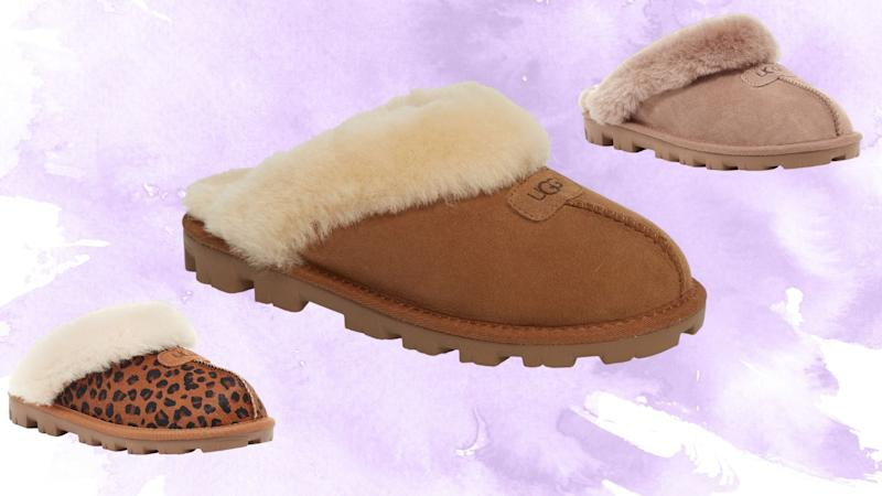 Ugg's Genuine Shearling Slippers from Nordstrom.
