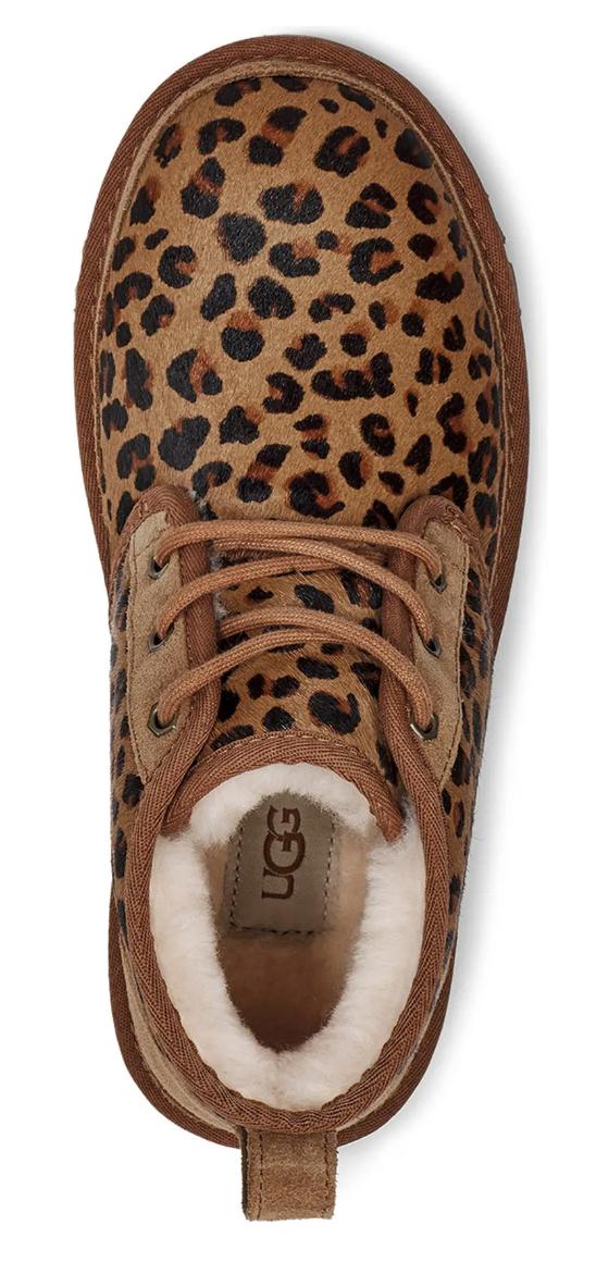 UGG Women's Neumel Boot in Leopard Print Suede