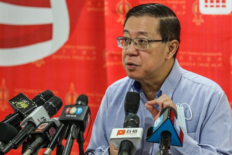 Lim Guan Eng expressed doubt that her ministry's secretary-general would have written an official letter in 2018 to MOF without the knowledge or consent of Minister Zuraida. — Picture by Firdaus Latif