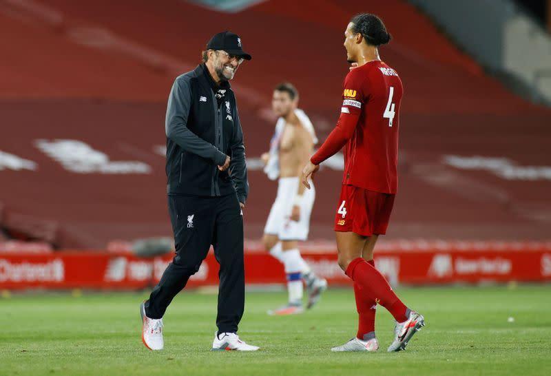 Liverpool sudah sampai ke level yang berbeda, kata Van Dijk