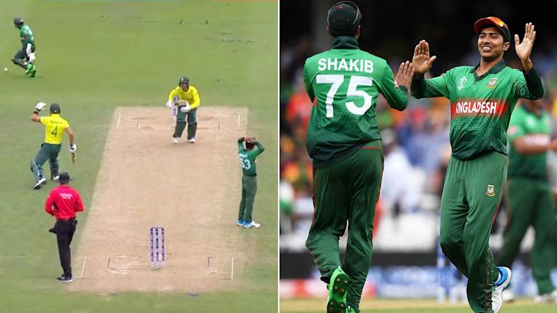 Bangladesh open World Cup account with victory over struggling South Africa