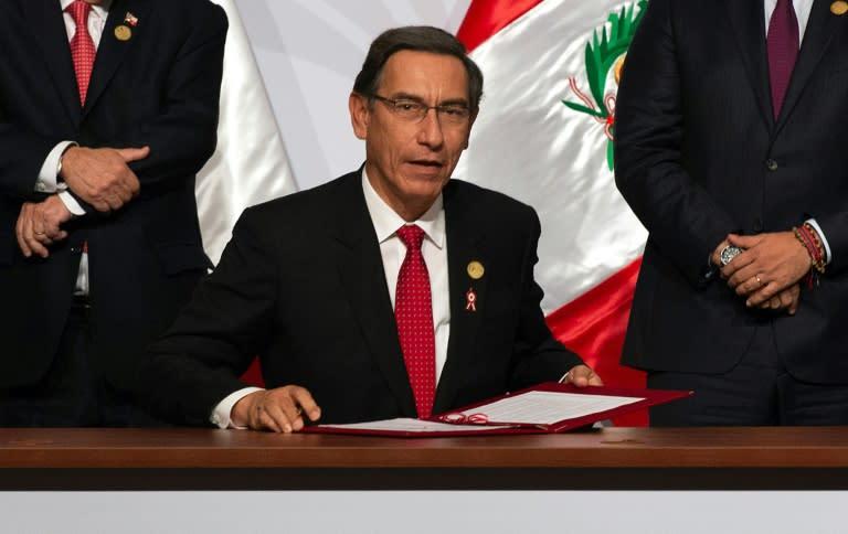 Peru govt petitions top court to block impeachment vote