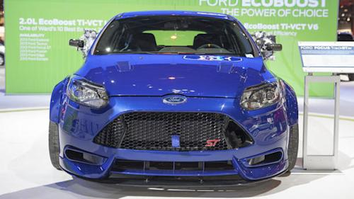 Ford, Ken Block build an all-out Focus TrackSTer