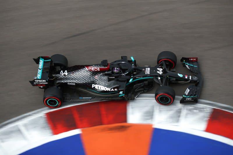Hamilton menyintas drama kualifikasi GP Rusia untuk pole position