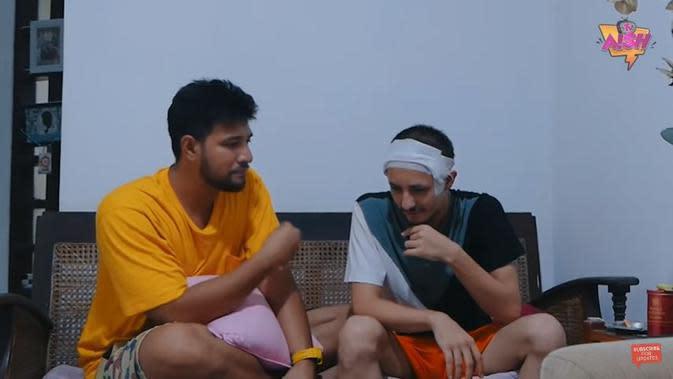 Ammar Zoni dan Dylan Carr (Foto: YouTube)