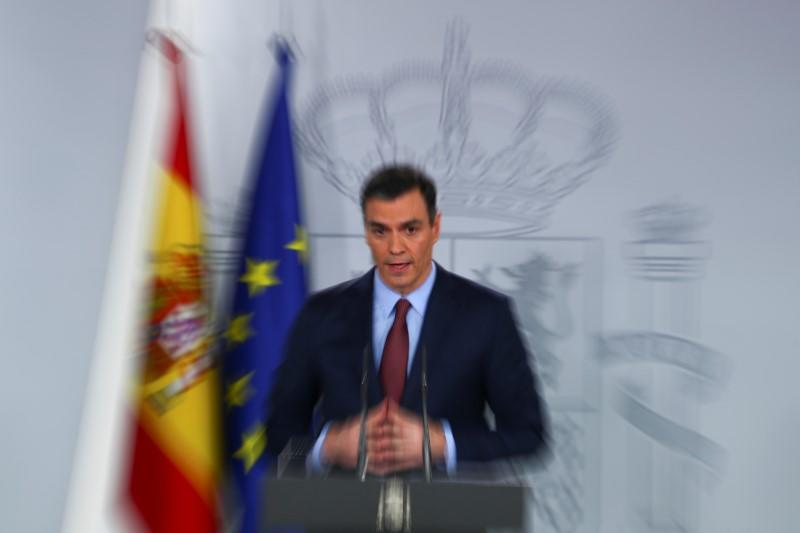 Spain's PM Sanchez calls for EU 'Marshall Plan' to fight coronavirus