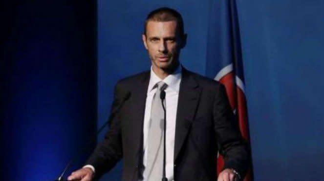 Presiden UEFA, Aleksander Ceferin