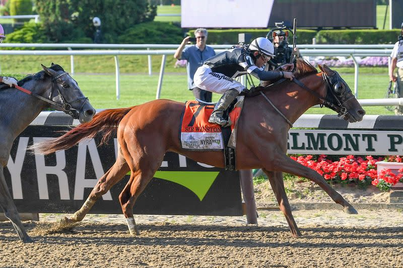 FILE PHOTO: Horse Racing: 151st Belmont Stakes