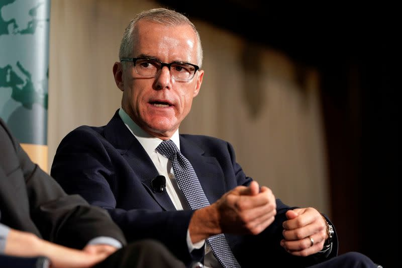 Justice Dept. drops probe of ex-FBI official McCabe, a top Trump target