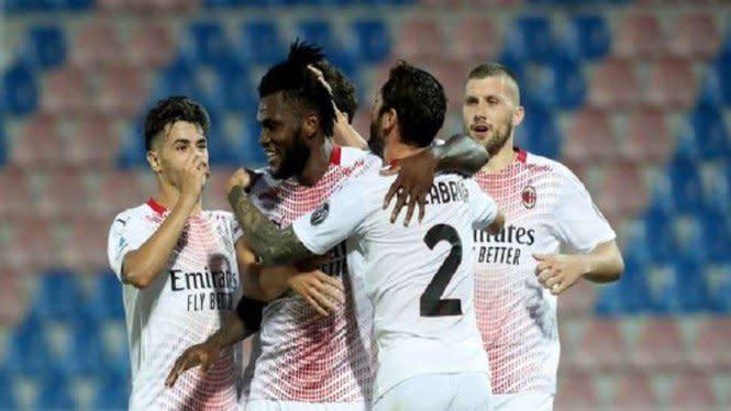 Tanpa Ibrahimovic, Milan Bekuk Crotone