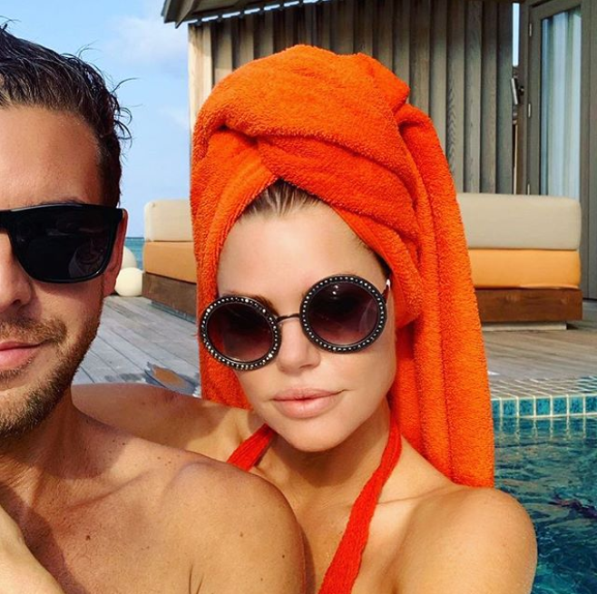 <p>Sophie Monk recently shared this snap from her first vacay with boyfriend Joshua Gross in the beautiful Maldives. Photo: Instagram/Sophie Monk Photo: Instagram/Sophie Monk </p>