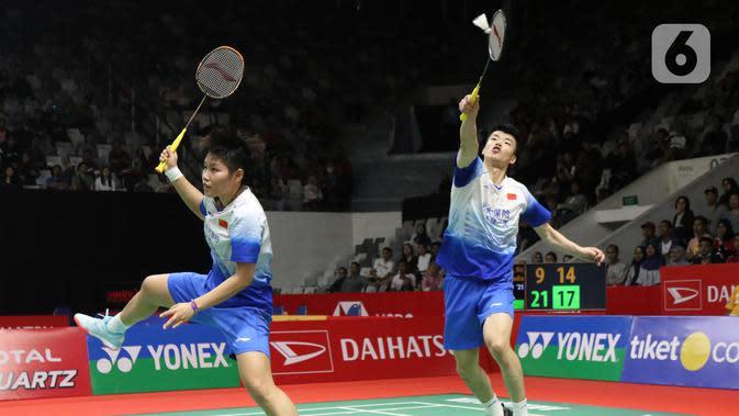 Ganda campuran China, Wang Yi Lyu/Huang Dong Ping. (Liputan6.com/Helmi Fithriansyah)