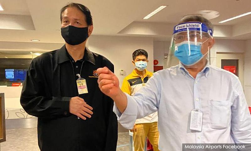 MOH top guns spend wee hours at KLIA to deal with bungled Covid-19 testing