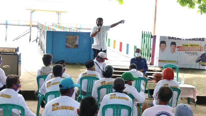 Blusukan ke Desa Lenyek, Cawagub Ma'mun Amir Akan Mekarkan 10 Kabupaten Baru